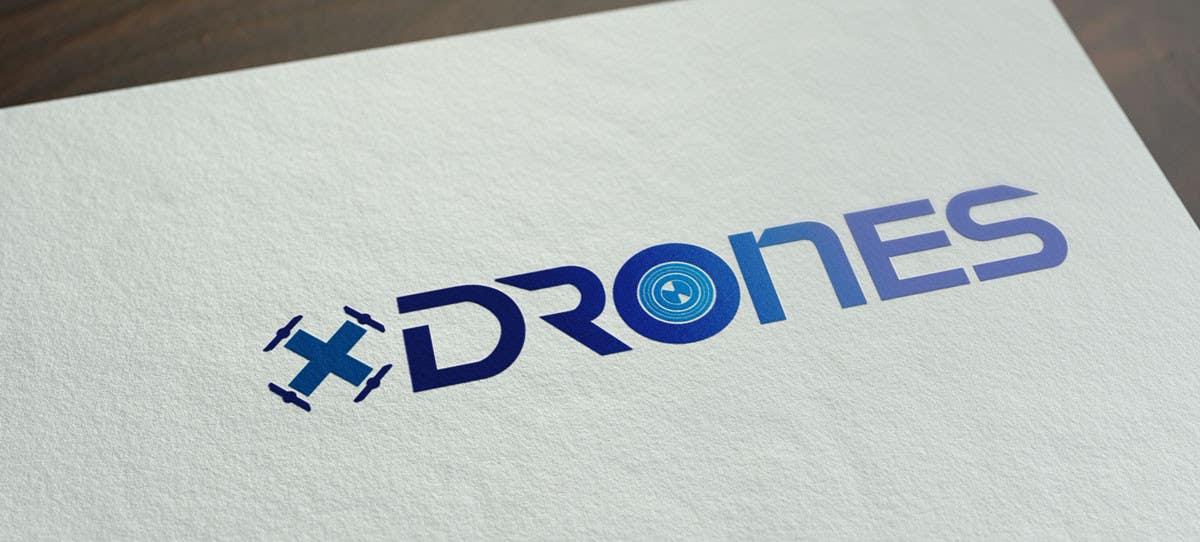 Konkurrenceindlæg #                                        58                                      for                                         Design a Logo for XDRONES.com