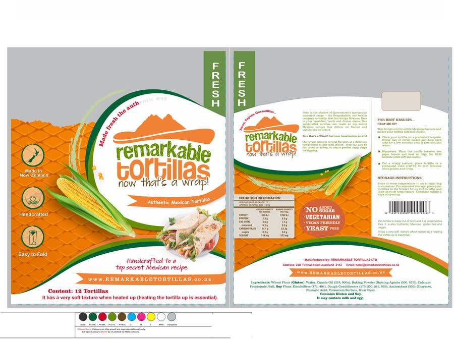 Kilpailutyö #                                        30                                      kilpailussa                                         Extra Soft Corn Tortilla