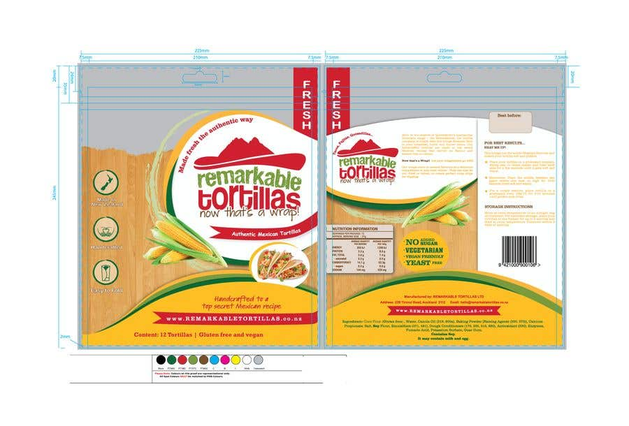 Contest Entry #                                        17                                      for                                         Extra Soft Corn Tortilla