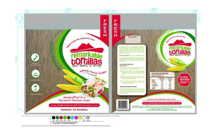Kilpailutyö #                                        10                                      kilpailussa                                         Extra Soft Corn Tortilla