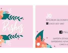 #100 untuk Make me a  business card oleh martianann