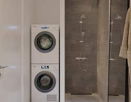 nº 46 pour 3D rendering kitchen, bathroom. par ne5yalie