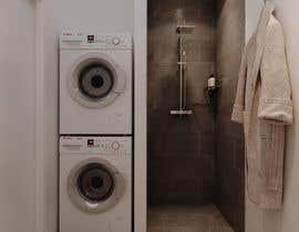 nº 45 pour 3D rendering kitchen, bathroom. par ialderino