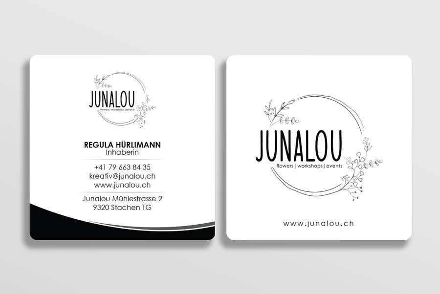 Kilpailutyö #                                        379                                      kilpailussa                                         Design square business cards, Convert Pixel logo to paths