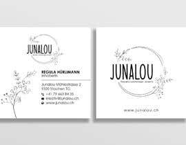 #396 pentru Design square business cards, Convert Pixel logo to paths de către Uttamkumar01