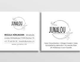 #402 pentru Design square business cards, Convert Pixel logo to paths de către Uttamkumar01