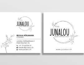 #403 pentru Design square business cards, Convert Pixel logo to paths de către Uttamkumar01