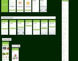 bishalchandra tarafından iOS & Android - UI / UX / IxD Design for eCommerce app - Part 1 için no 44