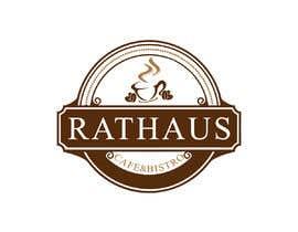 Graphicsshap tarafından Rathaus-Café & Bistro için no 768