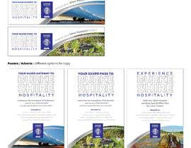 #76 untuk Promotional Passport design, billboard graphics, bumper sticker, graphics for badges etc oleh scarletbamboo50