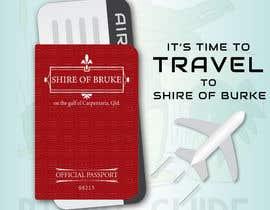 #279 untuk Promotional Passport design, billboard graphics, bumper sticker, graphics for badges etc oleh RayedShamim