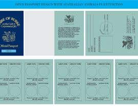 #112 untuk Promotional Passport design, billboard graphics, bumper sticker, graphics for badges etc oleh FrancoRiva