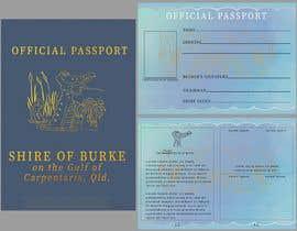 #71 untuk Promotional Passport design, billboard graphics, bumper sticker, graphics for badges etc oleh ValentinGF