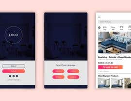 #29 for design futuristic app for furniture shop by azharbeg