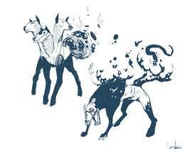 #144 для I need to create design of monsters от KinaTower