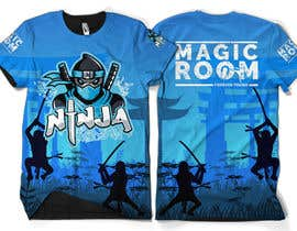 #137 for Ninja Academy T-shirt contest af moisanvictores