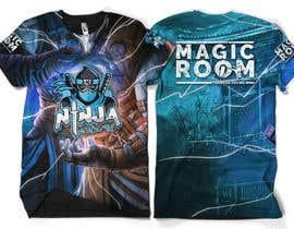 #170 for Ninja Academy T-shirt contest af moisanvictores