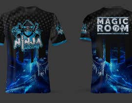 #174 for Ninja Academy T-shirt contest af moisanvictores