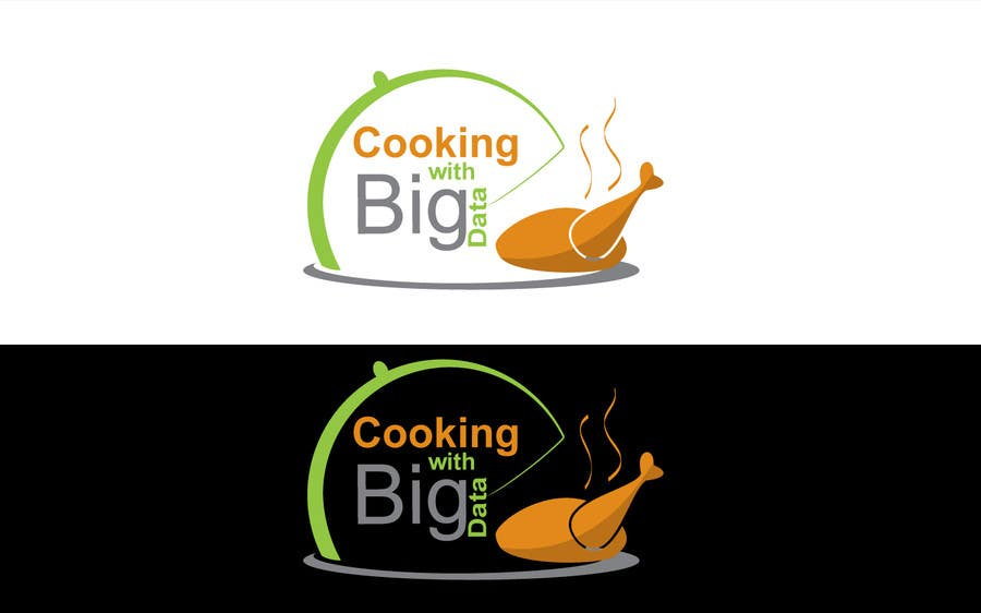 #88 for Design a new website logo - Cooking with Big Data by jeganr