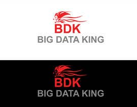 #78 untuk Website and Trade Stand Logo Design - Big Data King oleh jeganr