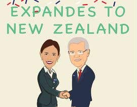 #32 for Design Australian prime minister and New Zealand prime minister shaking hands by carlosdisenador6