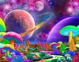 #51 untuk Create Fantasy / Psychedelic 3D Scene Landscape Artwork oleh panjamon