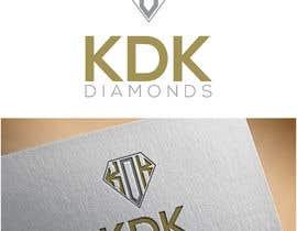Nro 117 kilpailuun Logo Design for KDK Diamonds käyttäjältä alifakh05