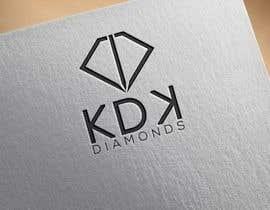 #142 pentru Logo Design for KDK Diamonds de către moyeazzem