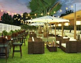 #6 для Design Exterior Terrace for a Lounge Bar от lpl5