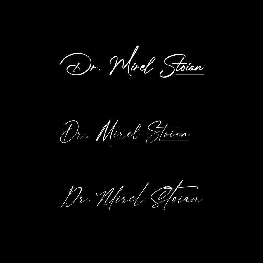 Kilpailutyö #                                        75                                      kilpailussa                                         Dr. Mirel Stoian signature