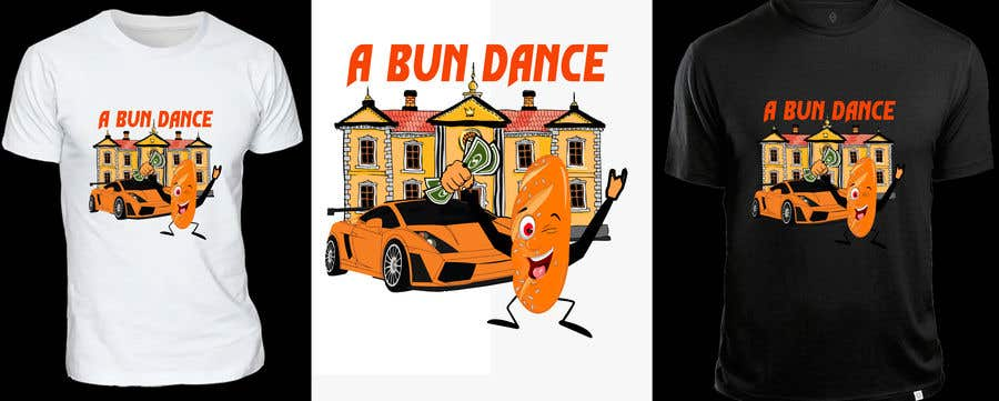 Bài tham dự cuộc thi #                                        9                                      cho                                         A Bun Dance Graphic Design T-Shirt