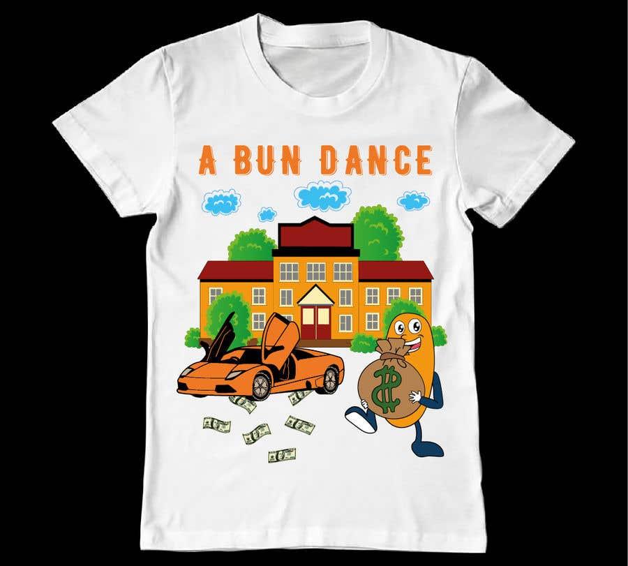 Bài tham dự cuộc thi #                                        50                                      cho                                         A Bun Dance Graphic Design T-Shirt