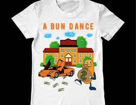 #50 untuk A Bun Dance Graphic Design T-Shirt oleh ansercreation