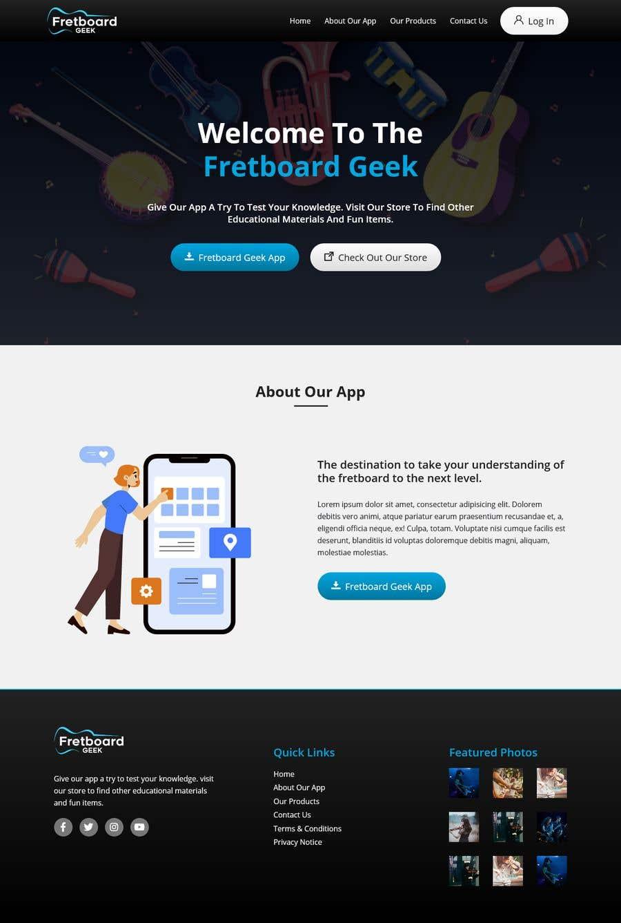 Конкурсная заявка №                                        24                                      для                                         Freshen up home page of web site