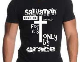 #10 para Design a T-Shirt for Salvation grace por moilyp