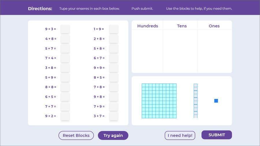 Kilpailutyö #                                        5                                      kilpailussa                                         Contest - Redesign 1 page Math Sheet