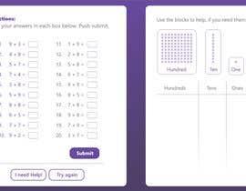 Nro 25 kilpailuun Contest - Redesign 1 page Math Sheet käyttäjältä WonoMe