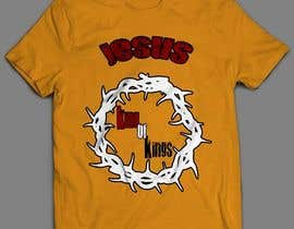 nº 10 pour Design a T-Shirt for Jesus King of Kings par sandrasreckovic