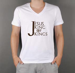 squirrel1811 tarafından Design a T-Shirt for Jesus King of Kings için no 5