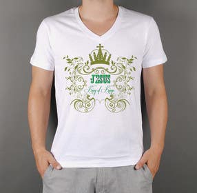 squirrel1811 tarafından Design a T-Shirt for Jesus King of Kings için no 26