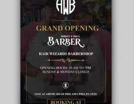 #26 for Grand Opening Barbershop af alakram420