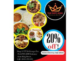 #10 for Design me a restaurant flyer by nayanjn676