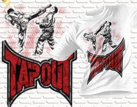#14 for Modern T-shirt Design. Wrestling and Karate theme! by rashedul1012