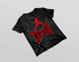 #5 for Modern T-shirt Design. Wrestling and Karate theme! by fsmaksudur