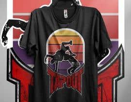 #7 for Modern T-shirt Design. Wrestling and Karate theme! by durjoyraj26