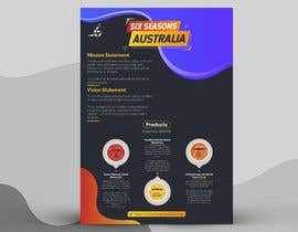 #67 for Create one page flyer by sajansarkars