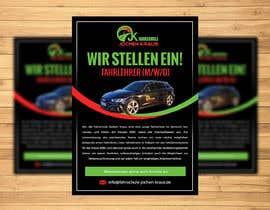 #108 für Poster for job advertisement for a driving school - 14/04/2021 08:18 EDT von jeevanmalra