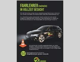 #10 für Poster for job advertisement for a driving school - 14/04/2021 08:18 EDT von efesengul
