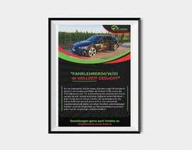 #97 für Poster for job advertisement for a driving school - 14/04/2021 08:18 EDT von Arif441