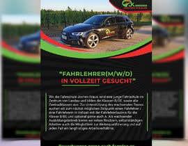 #98 für Poster for job advertisement for a driving school - 14/04/2021 08:18 EDT von Arif441